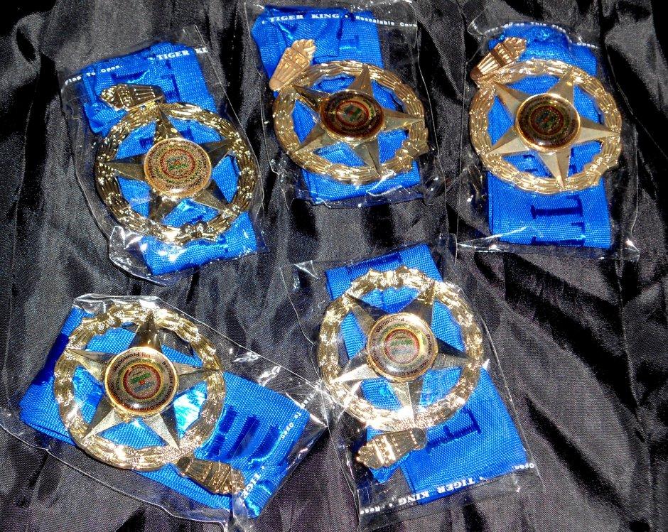las medallas para los bachilleres