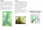 folleto sobre la región de los Andes y Sierra de Perijá - Venezuela
