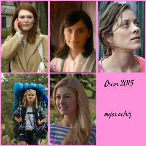 Mejor actriz, Oscar 2015