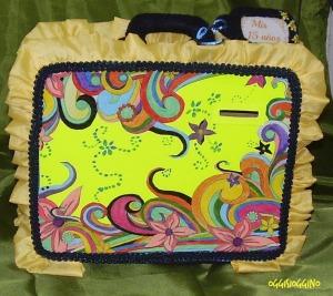 el cofre para la quinceañera,versión maleta